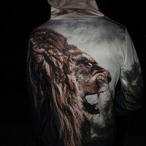 Other - Roaring Lion Lightweight Hooded Sweatshirt
